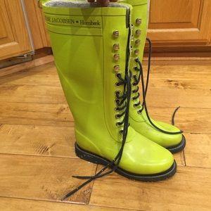 8dfe0891130 Ilse Jacobsen tall rain boots 36